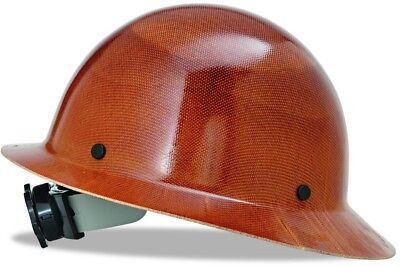 MSA 475407 Natural Tan Skullgard Hard Hat with FasTrac Suspension Helmets