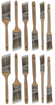 V7New Best 12Pk Trim / Wall Paint Brush Set Painting For House Home Professional