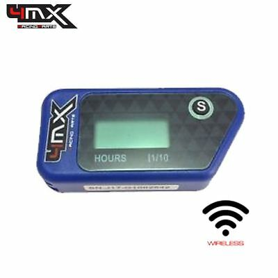 4MX Blue Wireless Motorbike Engine Hour Meter to fit Yamaha XTZ750 Super Tenere