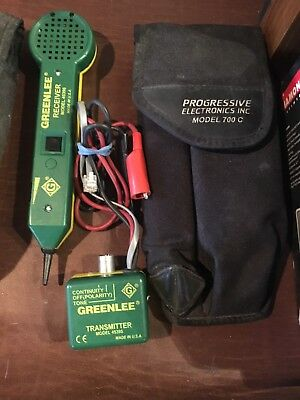 Greenlee Cable Tester 200EP-G Tone Probe Receiver and Transmitter Model 45396