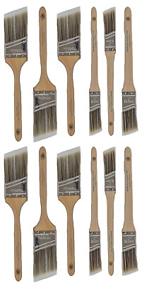 V16New Best 12Pk Trim /Wall Paint Brush Set Painting For House Home Professional