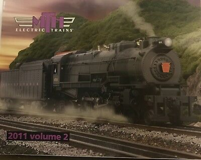 MTH Electric Trains 2011 Volume 2 RailKing & Premier O-Guage Trains
