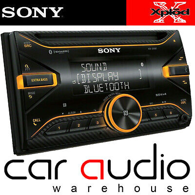 Sony WX-900BT Double Din Car Stereo Bluetooth CD MP3 USB AUX In Radio Player