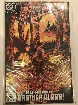 The New Teen Titans Comic Book Lot Of 4 #1