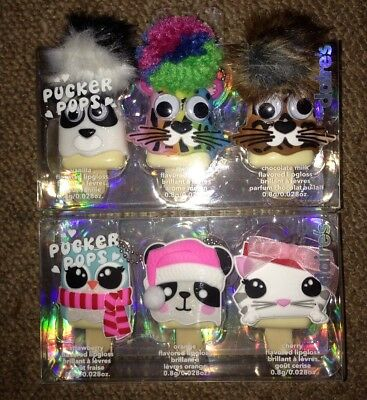 Clarie's Accessories Pucker Pops New Sealed