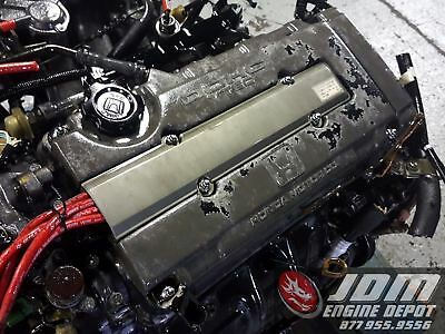 88 91 Honda Civic Crx 1 6l Dohc Vtec Engine Mt Swap B16a 5005090 Free Shipping