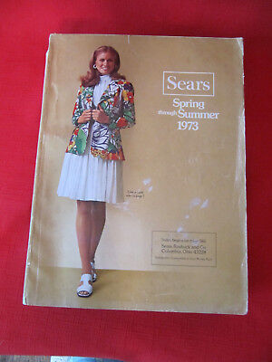Vintage Spring Through Summer 1973 Sears Catalog