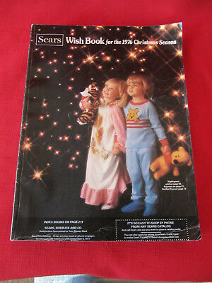 Vintage SEARS Wish Book for the 1976 Christmas Season Catalog