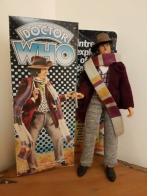 Vintage Doctor Who Denys Fisher Action Figure Tom Baker - Repro Boxed - RARE