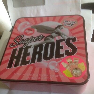 Soap & Glory Soaper Heroes Gif Set/Holidays/Birthday/Party/Mothers Gift/6-Item