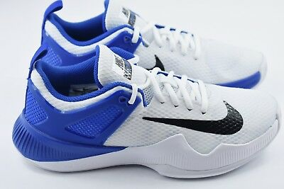 ba46aef6342dfa NIKE WOMENS AIR Zoom Hyperace Size 8 Volleyball Shoes White 902367 ...