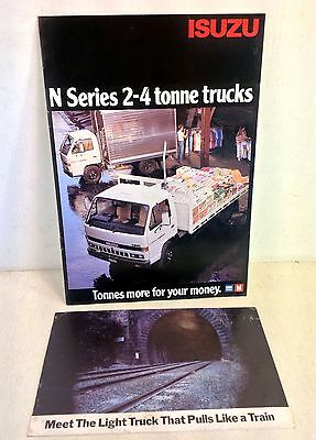 Isuzu GMH Truck Brochure for Isuzu N Series 2-4 Tonne & Big Bore Turbo 4 (4361)