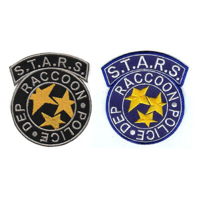 S.T.A.R.S.Raccoon Police Dep Resident Evil Badge Patch Embroidered Sew New