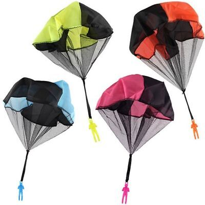 Parachute Throw Game Sports 1Pc Plane Kid Mini Outdoor Hand Toy Drop Flying Ball