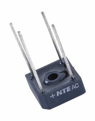 NTE Electronics NTE53004 Full Wave Single Phase Bridge Rectifier, 10 Amps, 10...