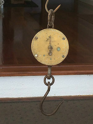 Vintage Salter Hanging Spring Scales Weigh up to 200llb