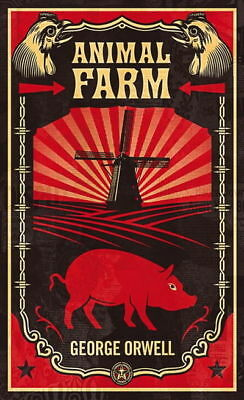 Animal Farm by George Orwell a CLASSIC must read - sent worldwide - paperback