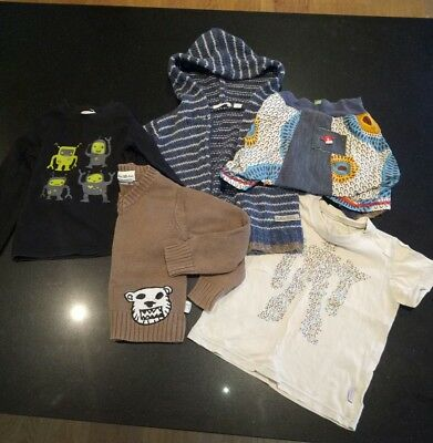 baby boys clothes three little trees fred bare country road oishi-m size 1-2 yr
