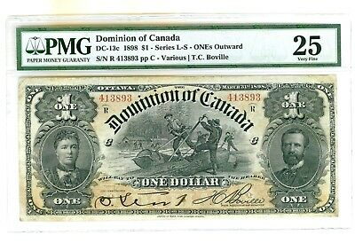 1898 Dominion of Canada $1 Banknote - Cat# DC-13c