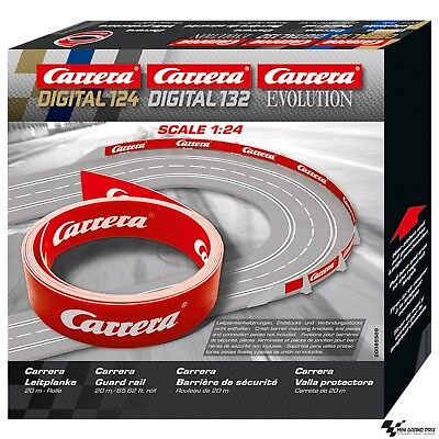 "Carrera Digital 132 / 124 / Evolution Leitplanke ""Carrera"" 20m 85509 (1m/2,25€)"