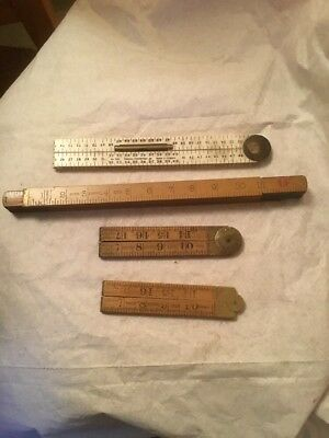 Pre-owned Job Lot Rabone Rulers