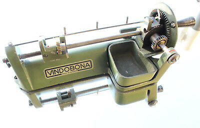 Vindobona Bleistiftschärfmaschine, H.Chmela, old austrian pencil sharpener
