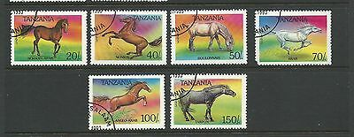 1993 Horses Part set of 6 Complete CTO