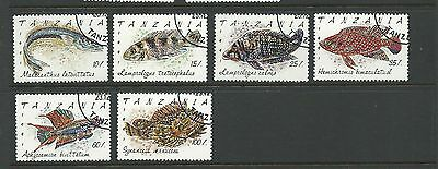 1991 Fish Part set of 6 Complete CTO