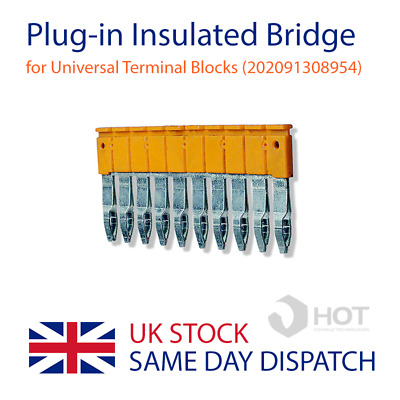 10-Way Insulated Bridge Connector for Universal Terminal Blocks (202091308954)