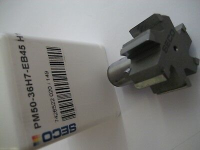 36mm PM50-36H7-EB45 H15 SECO PM50 CARBIDE TIPPED PRECIMASTER REAMER  #R19