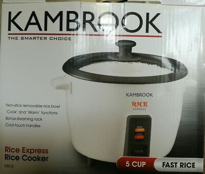 kambrook rice cooker 5 cup fast rice