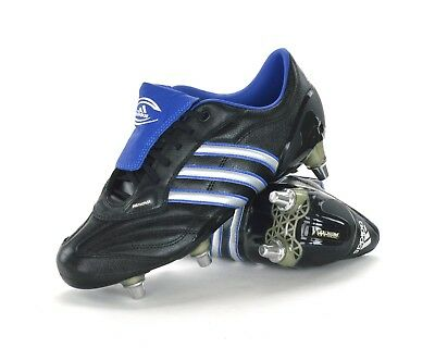 Adidas Nine 15 Iv Sg - Mens Rugby Boots - 929478 - Black - Brand New