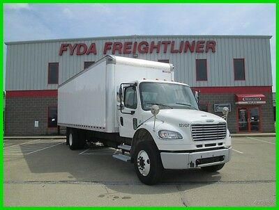 "(15) 2014 Freightliner M2 27' 91"" 102"" BOX TRUCK Used     MAIL DELIVERY"