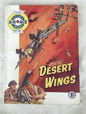 Air Ace Picture Library No 13 - Desert Wings (1960)