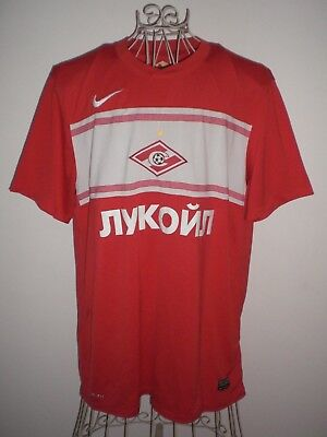 Spartak Moscow (Russia) Nike Home Football Shirt Xl - Extra Large Adults / Mens