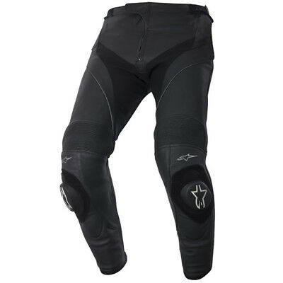Alpinestars Missile Leather Motorcycle Pants - Black
