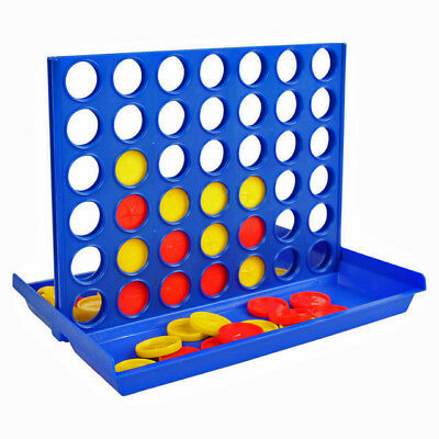 Four In A Row Line Connect 4 Family Board Game Fun Children Educational Learning