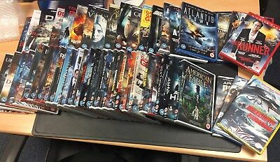 Bulk Buy - New And Sealed Dvds - 100 Dvds For £40