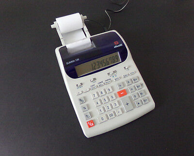 OLIVETTI SUMMA 120 calculatrice occasion bureau, caisse, commerce, etc.