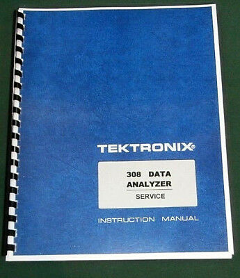 "Tektronix 314 Service Manual: w/ 11""X17"" Foldouts & Protective Covers"