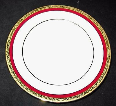 "Charter Club Grand Buffet Classic Red Dinner Plate, 11 3/8"" Across"