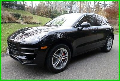 2015 Porsche Macan Turbo 2015 Turbo Used Certified 3.6L V6 24V AWD SUV Premium Bose