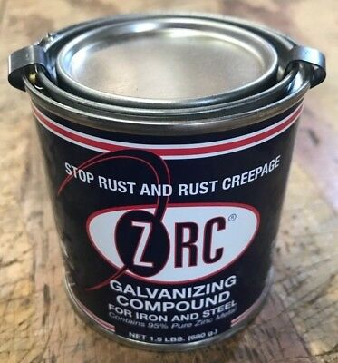 ZRC Cold Galvanizing Compound 1/2 Pint 95% Zinc (Z.R.C) 10001