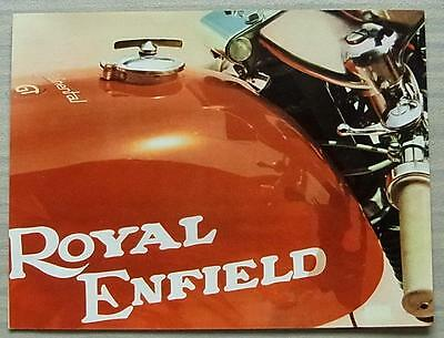 ROYAL ENFIELD CONTINENTAL GT 250 MOTORCYCLE Sales Brochure 1969 #JC/5M/269