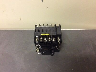 Fuji Electric Magnetic Contactor, SRCa3631-05Z42A, 100/110 V, Used, Warranty