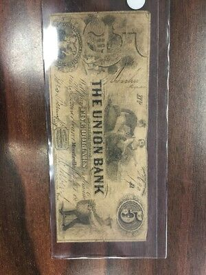 1857 Union Bank Of Sullivan Monticello New York $10 Note NY-1390 Pinholes (1834)