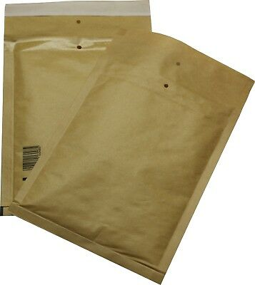 100 Pieces Padded Mailing Envelopes Size 3 C Brown 170x225 Envelopes DIN A5 B6+