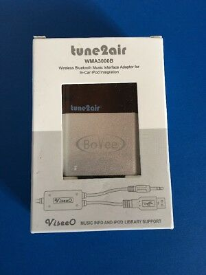 Bovee Viseeo WMA3000B Tune2air Wireless Bluetooth Music Interface Adaptor for BM