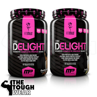 FITMISS - DELIGHT - 2 Flavors - 2lbs Women's Complete Protein Shake Low Calories