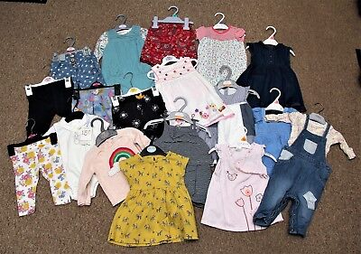 18 Items 3-6 months girls clothes Excellent Condition